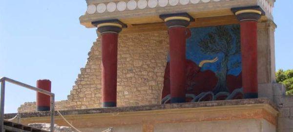 Τραυματίες από κεραυνό που χτύπησε τον αρχαιολογικό χώρο της Κνωσσού