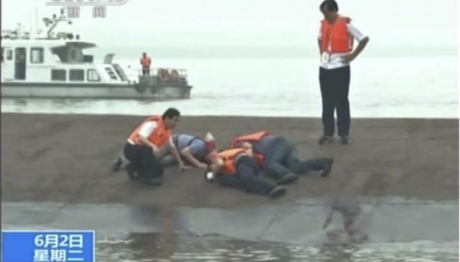 Κίνα: Πλοίο με 458 τουρίστες βυθίστηκε στον ποταμό Γιανγκτσέ