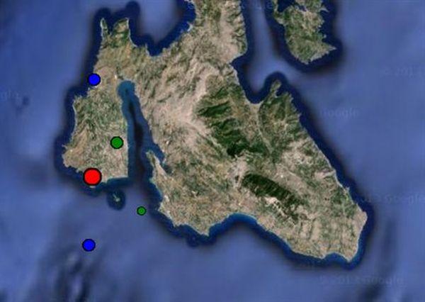 Σεισμός 4,4 βαθμών στην Κεφαλονιά, δύο τραυματίες στον Μύρτο
