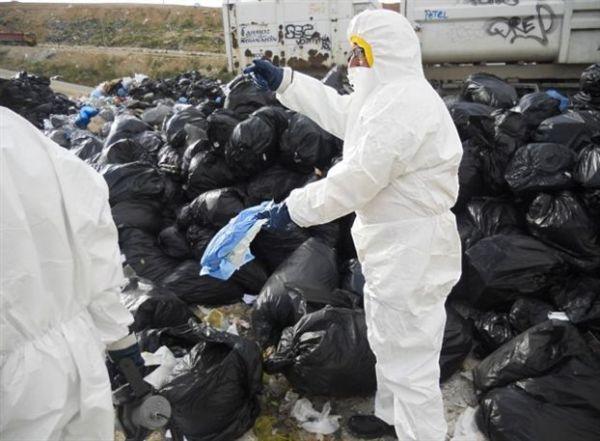Απομάκρυνση επικίνδυνων αποβλήτων από Ασπρόπυργο, Μάνδρα, Μέγαρα