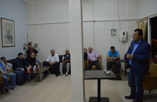 Επίσκεψη Χρ. Μπουκώρου στο Βελεστίνο