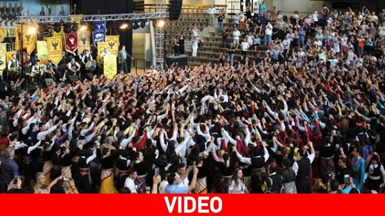 Πλάνα από το 34ο Πανευρωπαϊκό Φεστιβάλ Ποντιακών Χορών