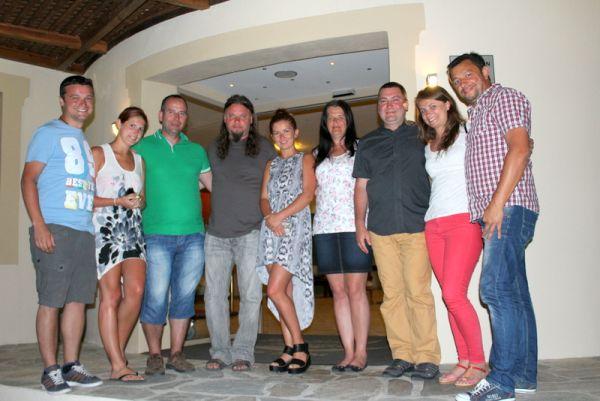 Ρουμάνοι δημοσιογράφοι στη Σκόπελο