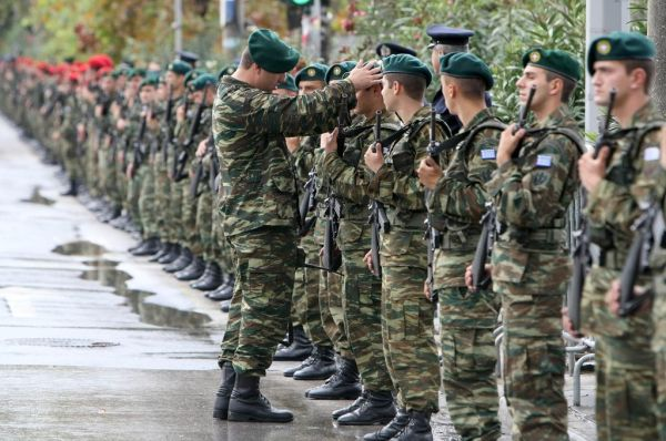Απαλλαγή στελεχών Ενόπλων Δυνάμεων μετά από εκτέλεση 24ωρης υπηρεσίας