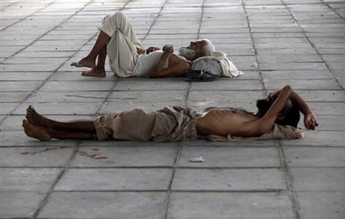 Φονικός καύσωνας στο Πακιστάν με περισσότερους από 180 νεκρούς