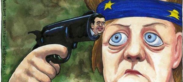 Guardian: Η Μέρκελ παίζει ρώσικη ρουλέτα με τον Τσίπρα για... σφαίρα