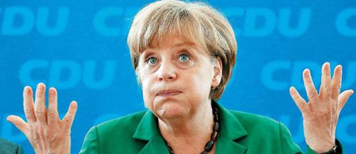 Μέρκελ: Πριν το δημοψήφισμα δεν συζητάμε για νέο πρόγραμμα