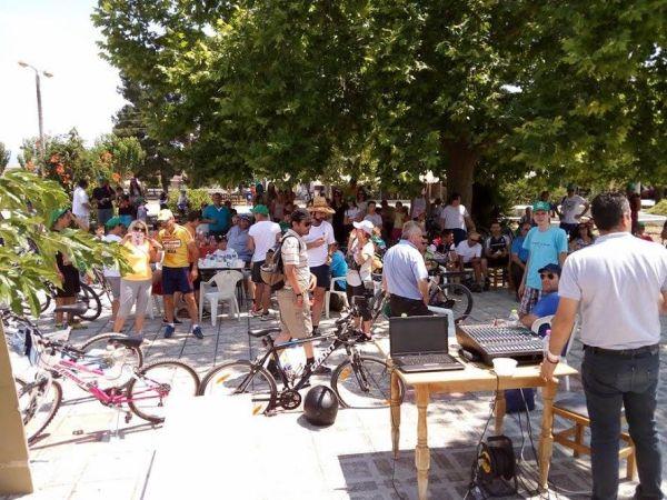Με μεγάλη επιτυχία πραγματοποιήθηκε ο 1ος Ποδηλατικός Γύρος Λίμνης Κάρλας