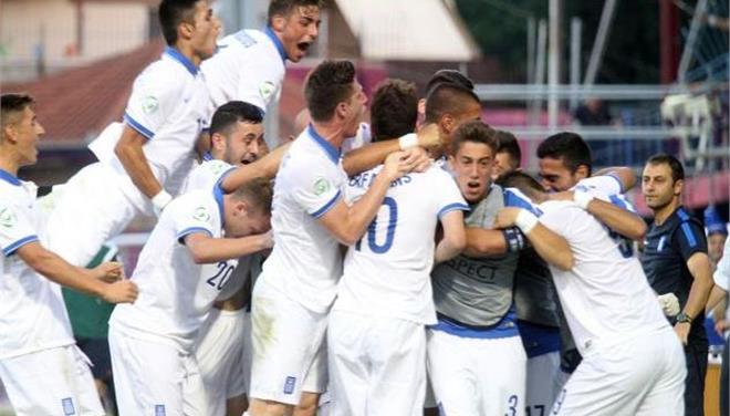 Η Εθνική Νέων, νίκησε 2-0 την Ουκρανία στην πρεμιέρα του Ευρωπαϊκού πρωταθλήματος