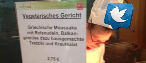 Τι τρώνε οι γερμανοί εθνοπατέρες: Μουσακά και λάχανο