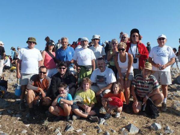 O EOΣ Βόλου στην 75η Πανελλήνια Ορειβατική Συνάντηση στον Πάρνωνα