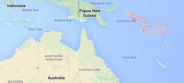 Ισχυρός σεισμός 7,5 Ρίχτερ στα Νησιά Σολομώντα