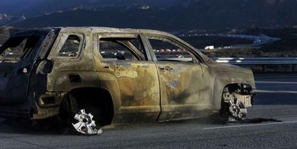 Πύρινες φλόγες έκαψαν 20 οχήματα σε αυτοκινητόδρομο στην Καλιφόρνια