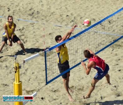 Πανδαισία Beach Volley στη Σκόπελο