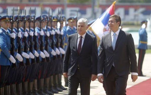 Στη Σερβία η τριμερής προεδρία της Βοσνίας-Ερζεγοβίνης