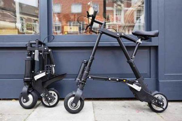 """A-Bike Electric: το μικρότερο ηλεκτρικό """"σπαστό"""" ποδήλατο στον κόσμο"""