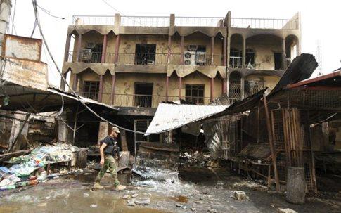 Ιράκ: Διπλή βομβιστική επίθεση σε δημοτική πισίνα, τουλάχιστον 12 νεκροί