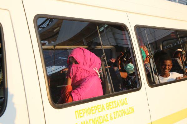 Στο Κέντρο Υποδοχής μεταφέρθηκαν οι 23 μετανάστες
