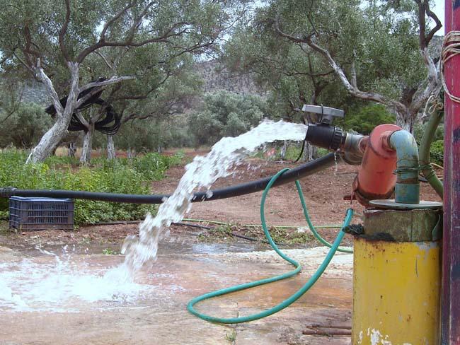 Χορήγηση αδειών χρήσης νερού
