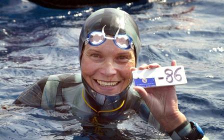Εξαφανίστηκε στη διάρκεια κατάδυσης η παγκόσμια πρωταθλήτρια Νατάλια Μολχάνοβα