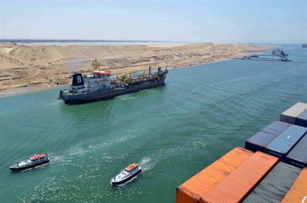 Αλλάζουν τα δεδομένα στη ναυσιπλοΐα με τη νέα διώρυγα του Σουέζ