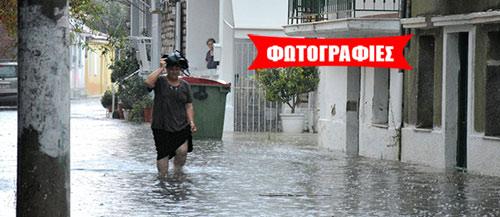 Αυγουστιάτικα μπουρίνια ανά την Ελλάδα μετά τον καύσωνα