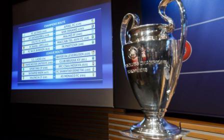 Η κλήρωση των πλέι οφ του Champions League