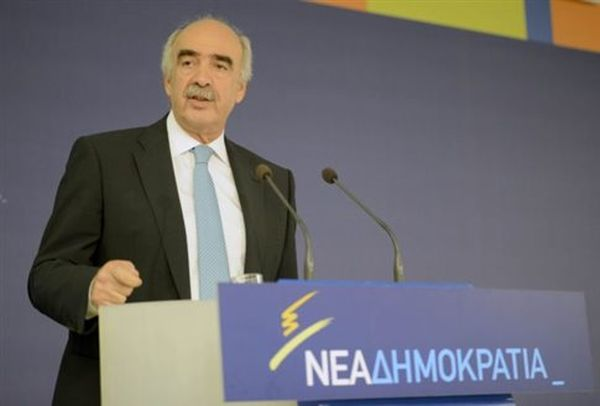 Στο Προεδρικό Μέγαρο το πρωί ο Βαγγέλης Μεϊμαράκης
