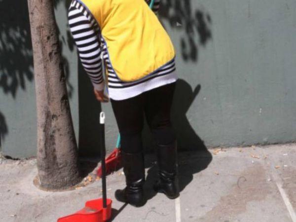 Καθαρισμός οδού Κωνσταντά