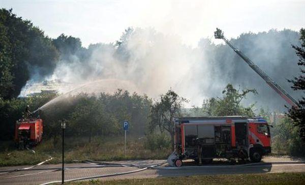 Γερμανία: Κατασβέστηκε πυρκαγιά κοντά σε κτίρια που φιλοξενούνται πρόσφυγες