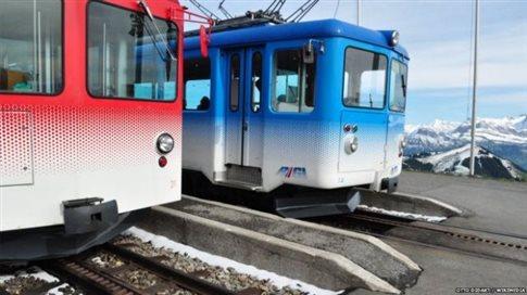Είστε κινέζος και θέλετε να δείτε Άλπεις; Όχι σε αυτό το τρένο...