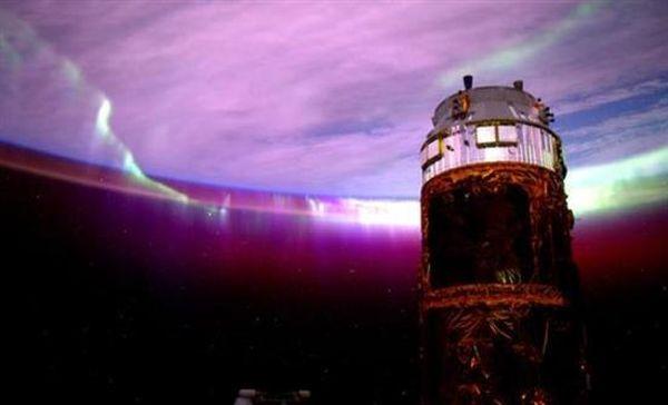 Το Βόρειο Σέλας από τον Διεθνή Διαστημικό Σταθμό!