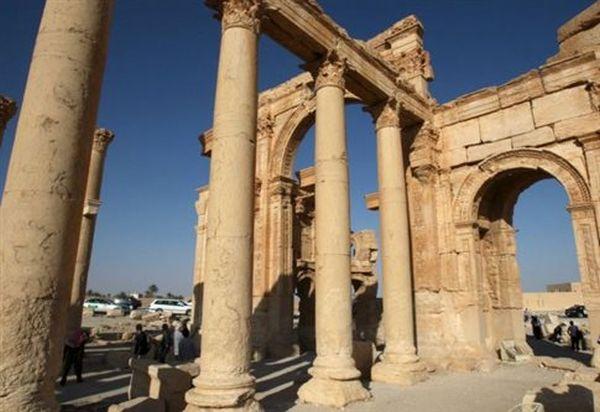 Τμήμα δεύτερου αρχαίου ναού στην Παλμύρα κατέστρεψαν οι τζιχαντιστές