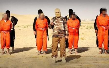 Ζωντανούς έκαψε τέσσερις σιίτες μαχητές στο Ιράκ το Ισλαμικό Κράτος