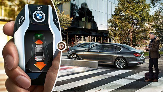Self-Parking ~ Καινοτομία της BMW για παρκάρισμα με τηλεχειριστήριο (βίντεο)