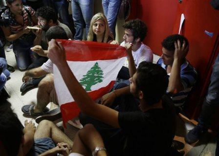 Λίβανος: Κατάληψη ακτιβιστών σε υπουργείο