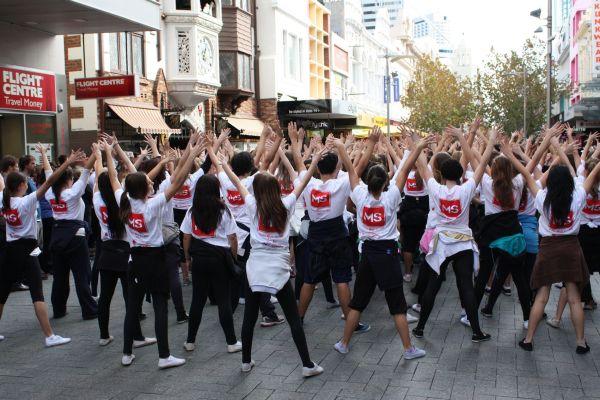 Flash Mob για πρώτη φορά στο Βόλο