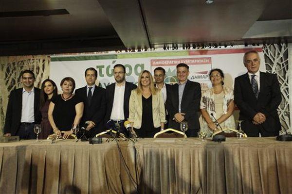 ΠΑΣΟΚ-ΔΗΜΑΡ: Πρώτος Θεοχαρόπουλος, τελευταίος Λαλιώτης στο Επικρατείας