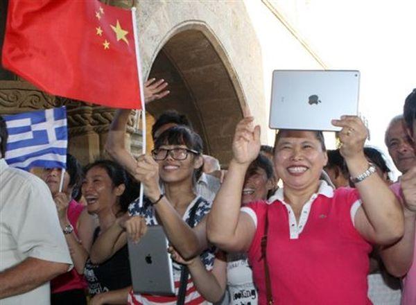 Περισσότεροι από 120.000 Κινέζοι τουρίστες επισκέφτηκαν την Ελλάδα