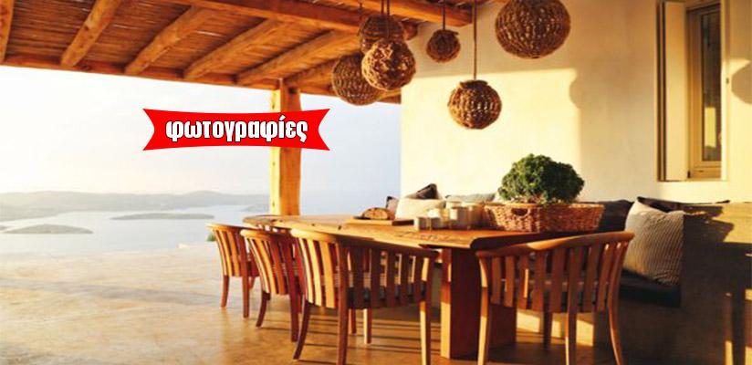 Δείτε μια υπέροχη εξοχική κατοικία στην αρχόντισσα των Κυκλάδων