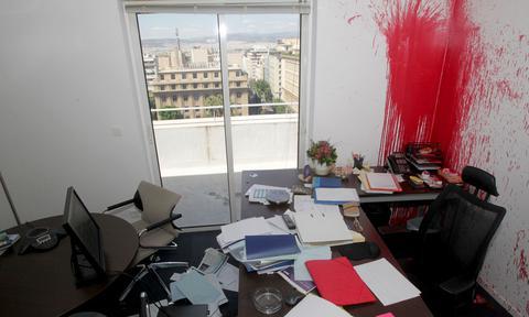 Αυτές τις κατηγορίες αντιμετωπίζουν οι 4 του Ρουβίκωνα για την επίθεση στο ΤΑΙΠΕΔ