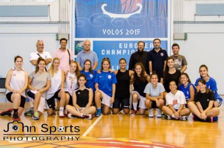 Ο αγιασμός της γυναικείας ομάδας μπάσκετ της Νίκης Βόλου