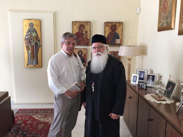 Συνάντηση του Απ. Παπαδούλη με το Μητροπολίτη Δημητριάδος