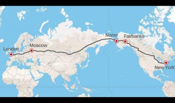 Λονδίνο – Νέα Υόρκη με αυτοκίνητο: Ο υπεραυτοκινητόδρομος των τριών ηπείρων και των 21.000 χλμ