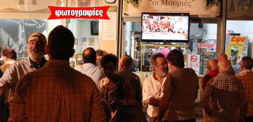 Ενθουσιασμός για την καθαρή νίκη από νωρίς χθες για τον ΣΥΡΙΖΑ Μαγνησίας