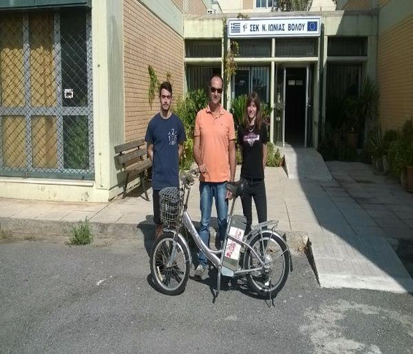 Κατασκευάζουν ηλιακό ποδήλατο στο 2ο ΕΠΑΛ Ν. Ιωνίας