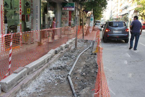 Νέες εσοχές στις οδούς Δημητριάδος και Πολυμέρη