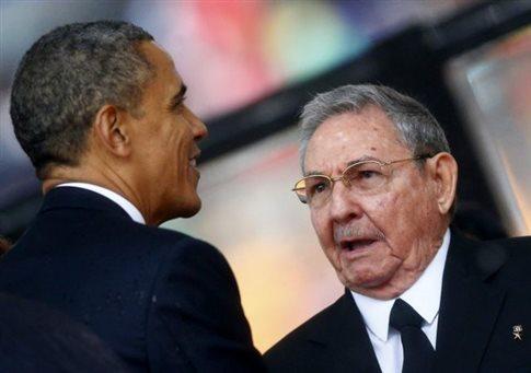 Ενώπιος ενωπίω Ομπάμα - Ραούλ Κάστρο την Τρίτη στη Νέα Υόρκη