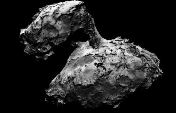 Rosetta: ο κομήτης 67P «πλαστικό παπάκι» από διαστημικό τρακάρισμα