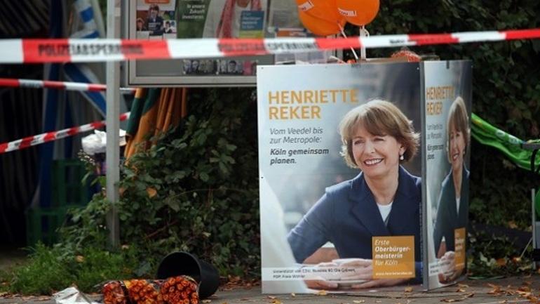 Απόπειρα δολοφονίας υποψήφιας δημάρχου στην Κολωνία